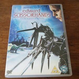 Edward Scissorhands  DVD (Region 2 Europe) LIKE NEW