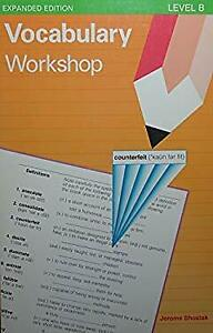 Vocabulary Workshop : Level B Paperback Jerome Shostak