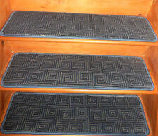 13 = Step 10'' x 36'' Tufted carpet Wool Woven Stair Treads  .