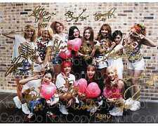 SNSD Photograph Girls Generation & Red Velvet 8X10 photo poster autograph RP