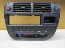 1997 1998 Honda Civic Radio Heater A/C Climate Control Trim  Panel Bezel