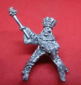 Warhammer WFB citadel metal 1985 C21 MOUNTED UNDEAD SKELETON WITCH LORD