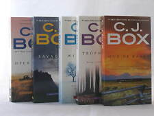 Joe Pickett Novels by C.J. Box (Books 1-5 in the Series) BRAND NEW