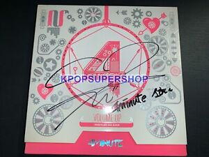 4Minute 3rd Mini Album Volume Up Sohyun Autographed Signed CD Great Photocard