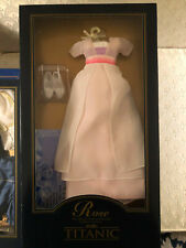 Rose Doll's White and Lilac Dress Ensemble Titanic by Franklin Mint