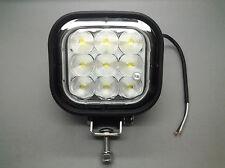 MONARK premium 12v & 24v 9 LED 1800 L work LAMP/lumineuse for camion Forest...