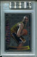 1996 Topps Chrome Youthquake Kobe Bryant Rookie Card RC BGS NM Mint+ 8.5 Lakers
