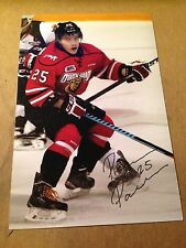 Petrus Palmu SIGNED 4x6 photo OWEN SOUND ATTACK / FINLAND / VANCOUVER CANUCKS