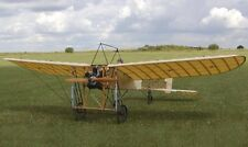 """French Bleriot XI 1/4 scale 85"""" ws scratch build R/c Plane Plans & Patterns"""