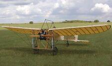 """French Bleriot XI 1/4 escala 85"""" WS rasguño construir R/c Plane Plans & patrones"""