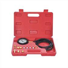 14 Pc Engine Oil Pressure Tester Test Gauge Diagnostic Test Tool Set Kit