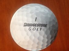 "Bridgestone Golf Decal *Brand New* 12.5"" x 12.5"" Free Shipping"