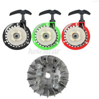 Pull Start Pullstart & Flywheel Set For 49cc Mini Moto Pit Dirt Bike ATV Quad