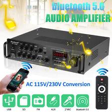 2000W HiFi Verstärker bluetooth Amplifier 5 Kanal FM Radio USB SD MP3 Player