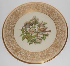 Lenox China Boehm 1970 Wood Thrush Plate