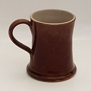 Vintage Denby Tankard Mug Brown (B7)
