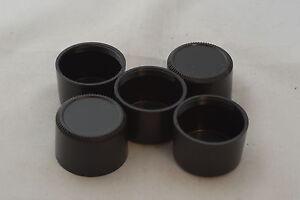5 X 39mm Plastic Screw Mount Deep Rear Lens Caps for Leica