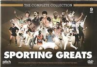 COMPLETE COLLECTION SPORTING GREATS 9 DVD BOX SET EDDY MERCKX MUHAMMEAD ALI more
