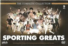 Sporting Greats - The Complete Collection (DVD, 2012, 9-Disc Set)