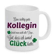 Gute Kollegin Tasse Beste Geschenk Welt Spruch Kaffeebecher Büro Geburtstag