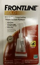 1 DOSE Frontline Gold For Dogs XL  89-132lbs  Free shipping