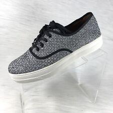New Bernie Mev Women's Chelsea Sneaker Pewter Size 40 US 9.5-10
