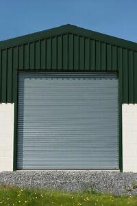 RENT TO BUY ELECTRIC SECURITY GALVANISED STEEL ROLLER SHUTTER / GARAGE DOORS