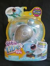 NEW Little Live Pets PEARLY the Angel Lil' Turtle Swims Walks Blue Silver Wings