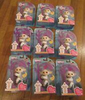 (Lot of 9) WowWee Fingerlings Baby Monkey Sophie Brand New In Box Free U.S. S&H