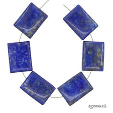 Beautiful unique Lapis Lazuli Rectangle pendant bead BA889