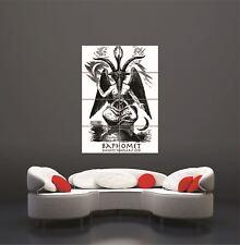 Baphomet Nouveau Giant Poster Art Print