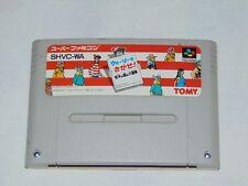 Super Famicom: Wally Wo Sagase (where´s Wally) (cartucho/cartridge)