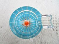 Ritzenhoff -Karim Rashid- Glass Cigarette Ashtray w/Box & Brochure Germany