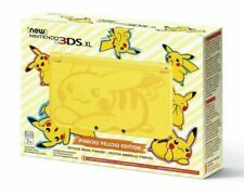 Nintendo 3DS XL Pikachu Edition Yellow Handheld System