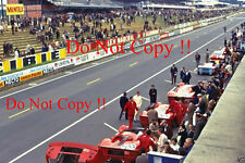 Ferrari 330 P4 in the Pits Le Mans 1967 Photograph