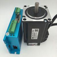 Leadshine Nema23 2Nm Hybrid Servo Closed-loop 3ph Stepper Motor Driver CNC Kit