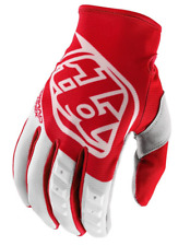 TROY LEE DESIGNS TLD MENS RED WHITE GP MTB CYCLING GLOVES X SMALL XS