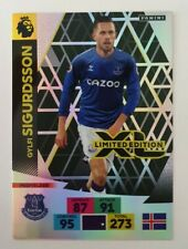 2020/21 PANINI Adrenalyn EPL Soccer Card Sigurdsson Limited Edition Everton
