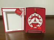 """Lenox """"Our First Christmas Together 2018"""" Ornament (Nib)"""