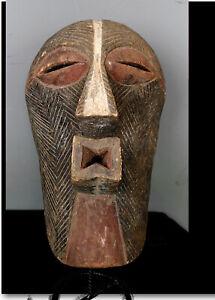 Old Tribal Songye Kifwebe  Mask    ---  Congo BN 55