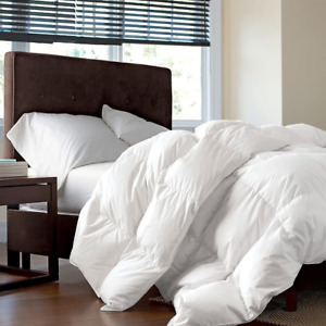 Luxurious Twin/Twin XL Size Siberian Goose Down Comforter, 1200 Thread Count