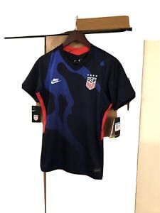 Nike USA Soccer Jersey Away 2021 Blue CD0907-475 Women's SZ M🔥