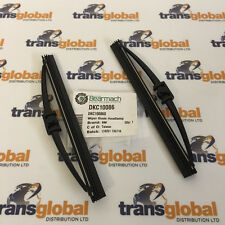 Range Rover P38 94-02 Pair of Headlight Lamp Wiper Blades - Bearmach DKC10086 x2