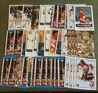 Lanny McDonald 45 Card Lot Nice Mix See Scans NHL Hockey