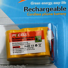PKCELL Battery for Vtech BT-163345 BT-17333 CS5111-2 CS5121 CS5113 3.6V