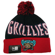 NEW ERA WINTER FRESH Vancouver Grizzlies Pom Knit Beanie Cuff Skull Cap