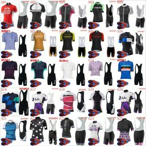 Women's Cycling Short Sleeves jersey bib shorts sets Ropa Ciclismo wear NS2