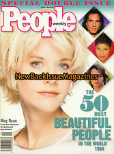People 5/94,The 50 Most Beautiful People in the World 1994,Meg Ryan,NEW