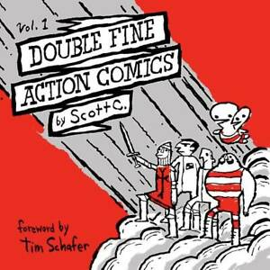 Double Fine Action Comics Volume 1 by Scott C. Softcover Graphic Novel