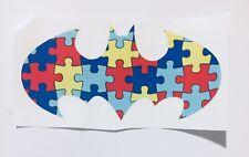 Autism Awareness Batman Car Window Permanent Decal